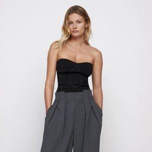 Zara Knit Bustier Top